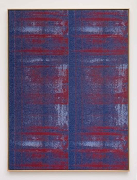 Negative Entropy (Joy Alaoui, Blue, Quad) by Mika Tajima