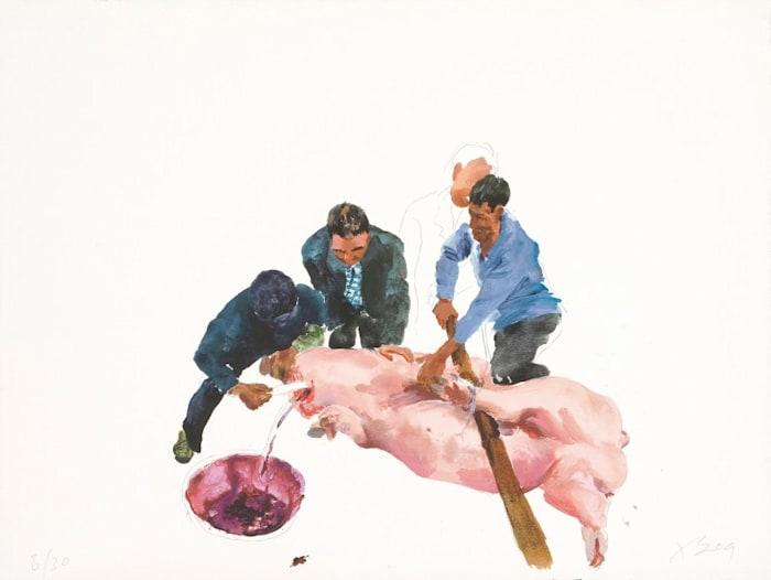 Second Cut by Liu Xiaodong