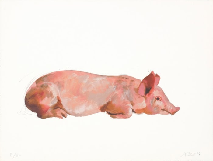 Lying on Its Belly by Liu Xiaodong