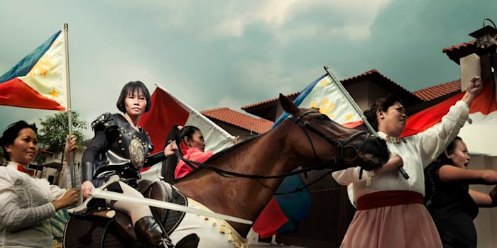 Maid in Malaysia: Joan of Arc by WONG Hoy Cheong