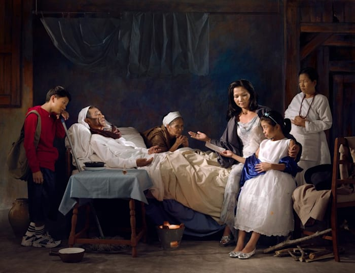 Days of Our Lives: The Charity Lady by WONG Hoy Cheong