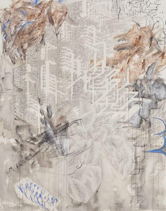 Vert of walls III by Yun Kyung JEONG