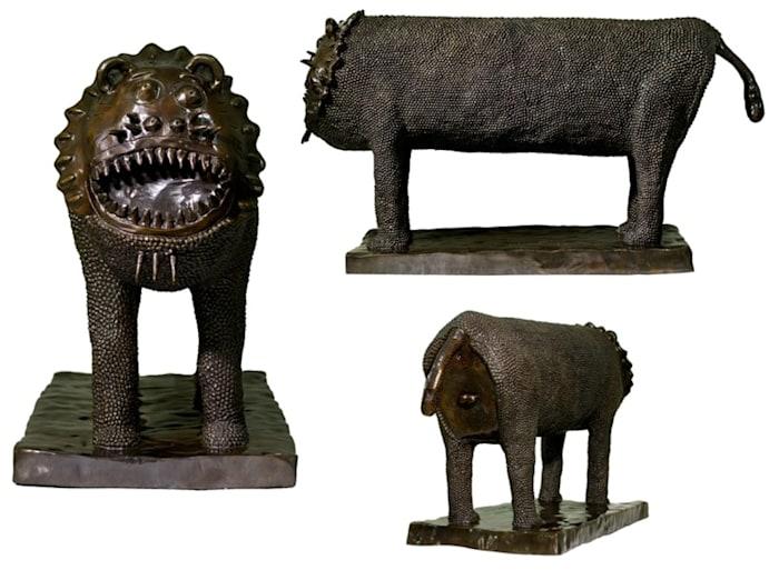 Singa Jantan (Male Lion) by Yunizar