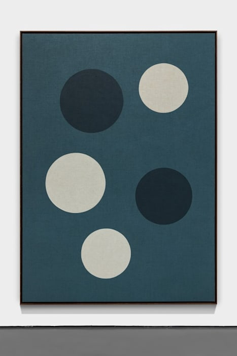 Planetas (azules) by Antonio Ballester Moreno