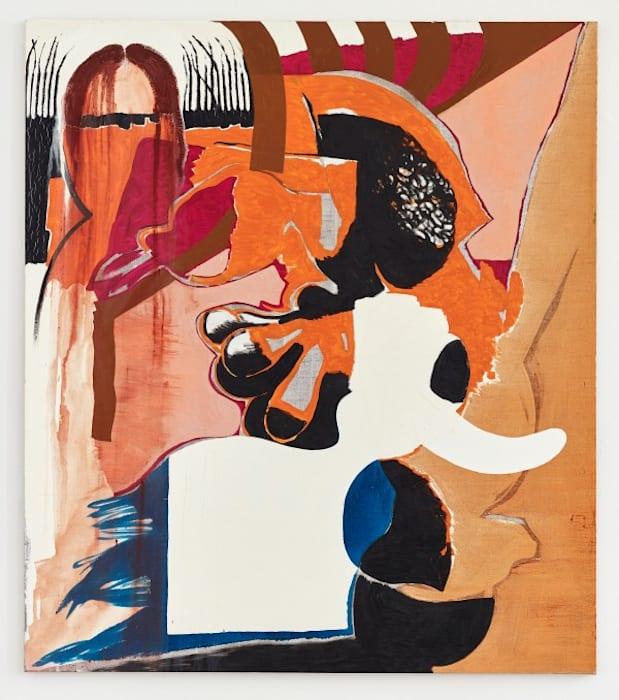 Untitled (8/95, I) by Charline von Heyl