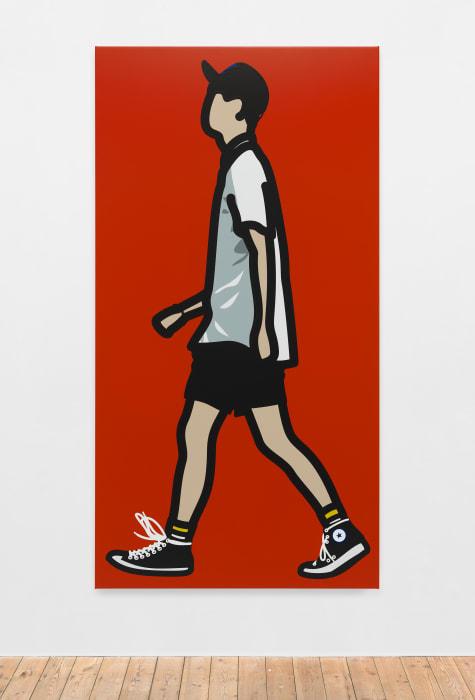Converse boy. by Julian Opie