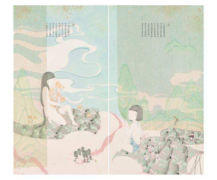 Goddess of Luo River by Joey Ka Yin LEUNG
