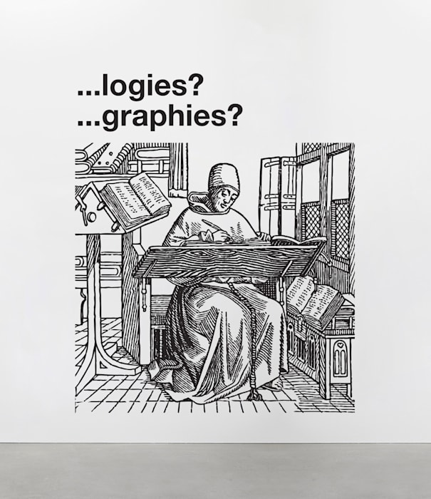 Logies. Graphies. by Liam Gillick