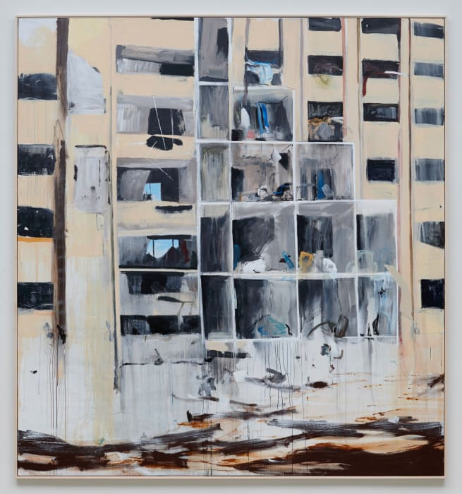 Apartments Aleppo by Brian Maguire