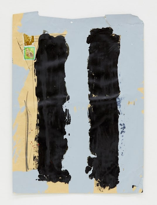 Between Two Pillars by Kishio Suga