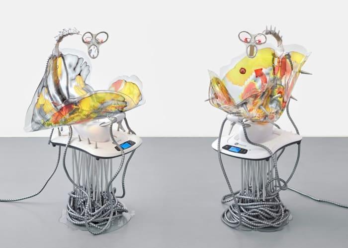 Mamaroo Brain 1 & 2 by Katja Novitskova