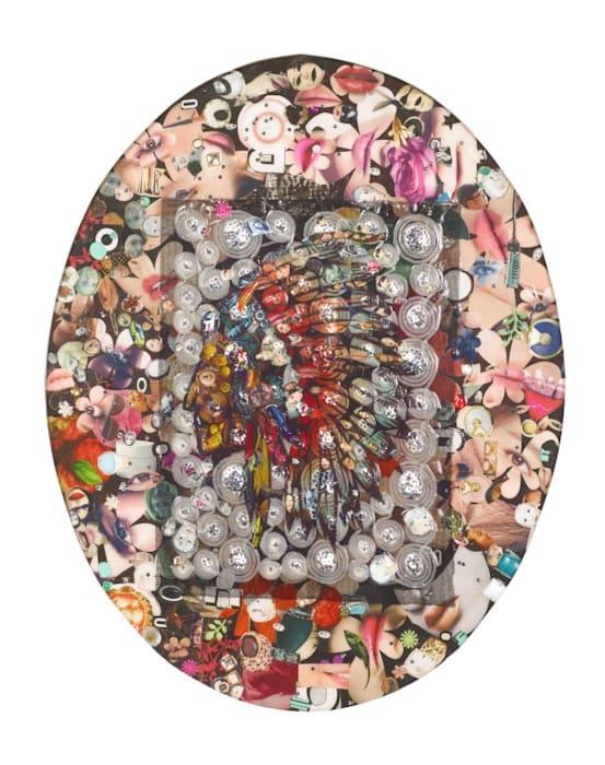 I Collage My Face V by Liu Shih-Tung