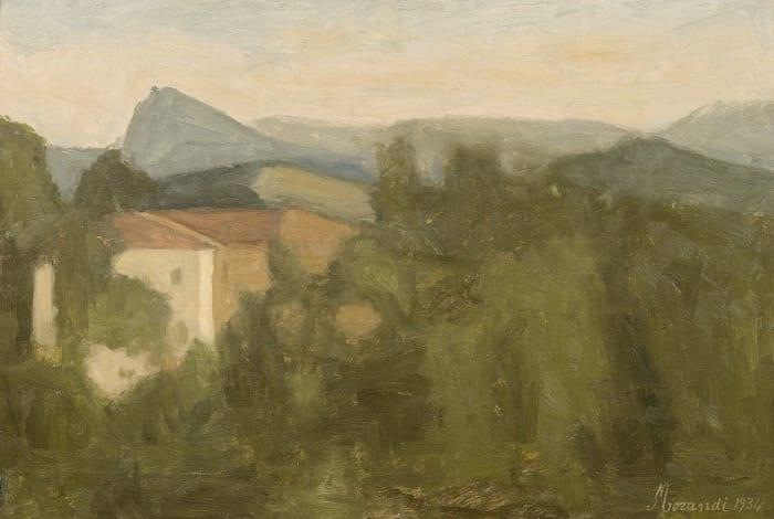 Paesaggio / Landscape by Giorgio Morandi