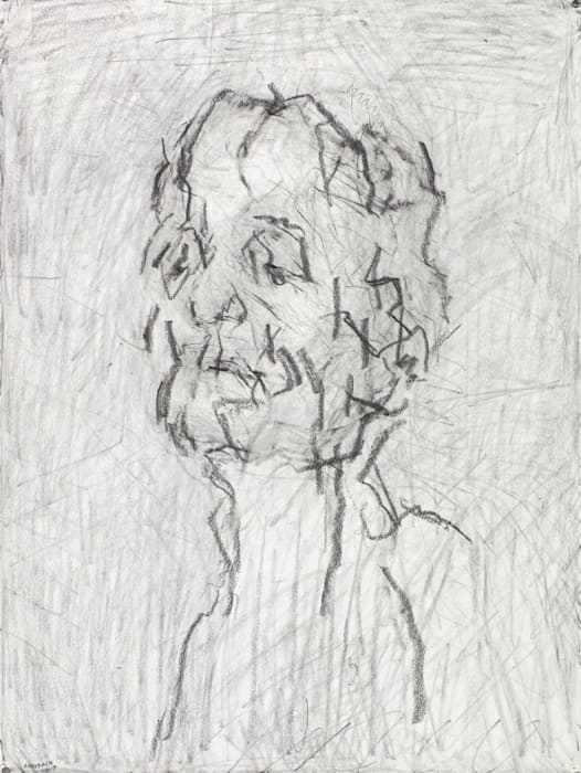 Self Portrait VI by Frank Auerbach