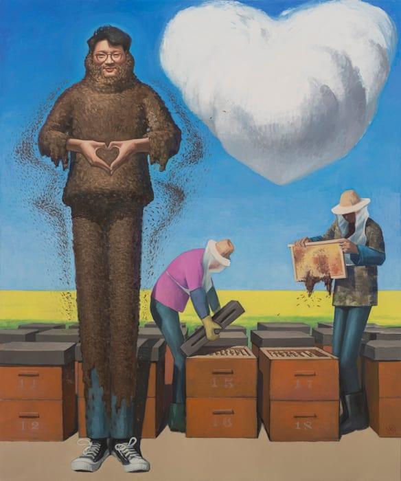 Son of the Beekeeper - The Painter Liao Guohe by Wang Xingwei