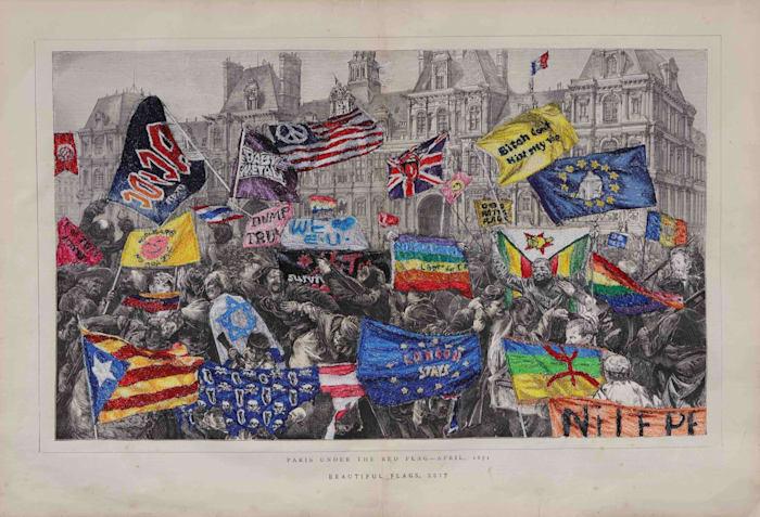 Beautiful Flags by Satoru AOYAMA