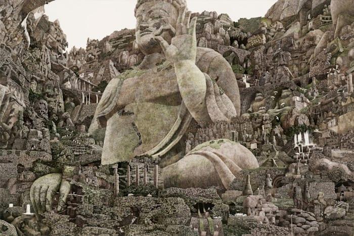 Buddha by Manabu Ikeda