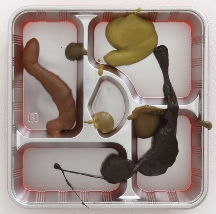 "U-Go (""Lunchbox Paintings"" series) by Makoto Aida"