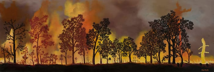 Seasonal Fires by Jessie Homer French