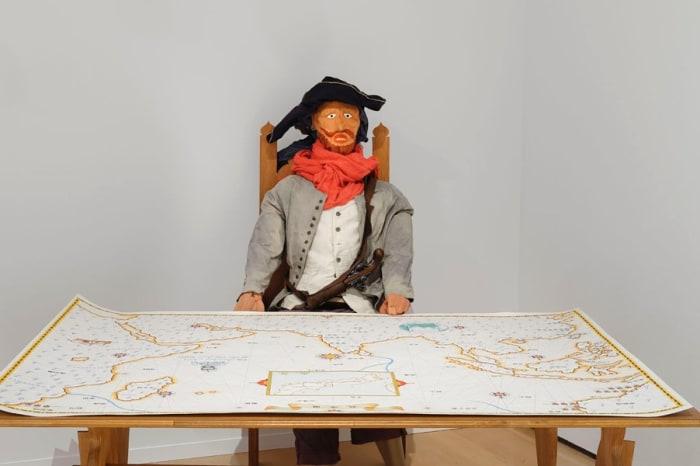 Portolan chart Omaezaki / South Africa-Ise / China by Nobuaki Takekawa