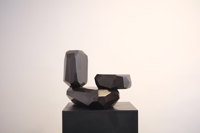 Micro Rock Formation Bronze 2 by Arik Levy