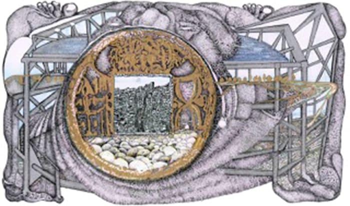 Old Money-New City-Same Human Brain by Fahrettin Orenli