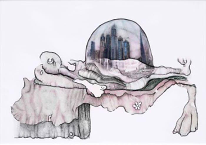 Moder Mature, Birth of Another Bastard City II by Fahrettin Orenli
