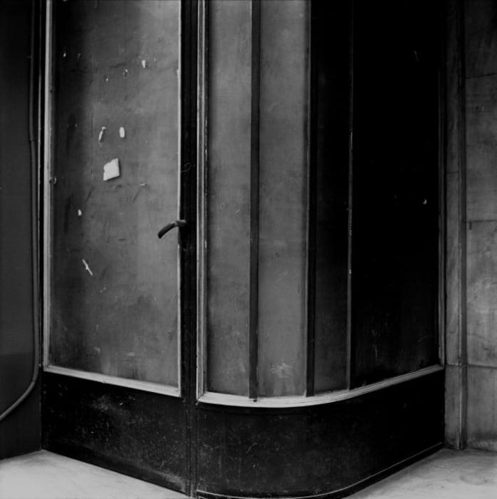 The Left Door / La Derniere Porte (Athens Archive) by Becky Beasley
