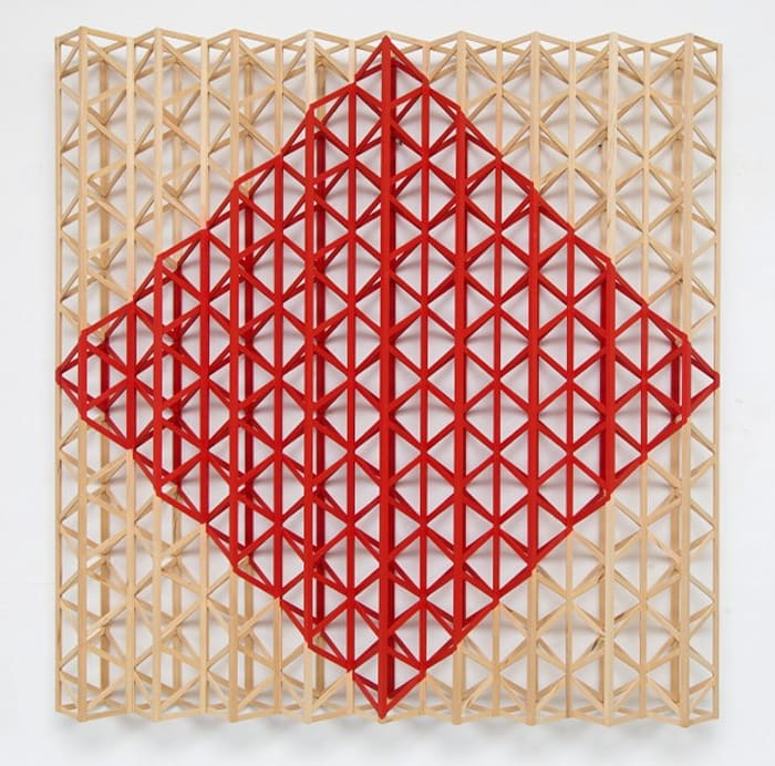 Red Square (After Malevich) by Rasheed Araeen