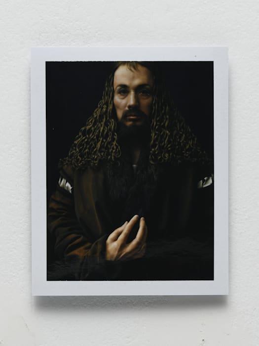 Dürer in the Studio (polaroid) by Yasumasa Morimura