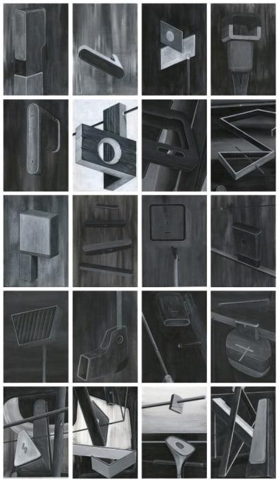 Untitled (Singapore), 1-20 by Gary Ross Pastrana