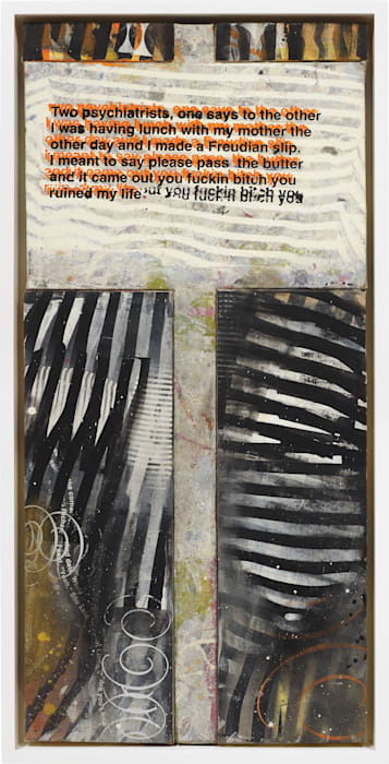 Untitled (Protest Painting) by Richard Prince