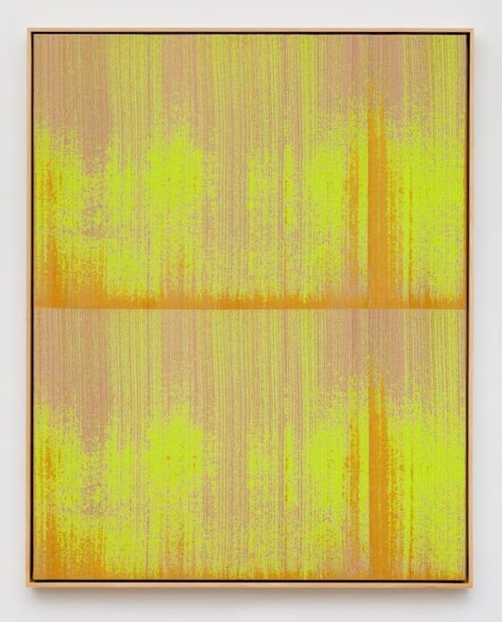 Negative Entropy (Digital Ocean NYC 3, Server Rack Installation Technicians, Fluorescent Yellow, Double) by Mika Tajima