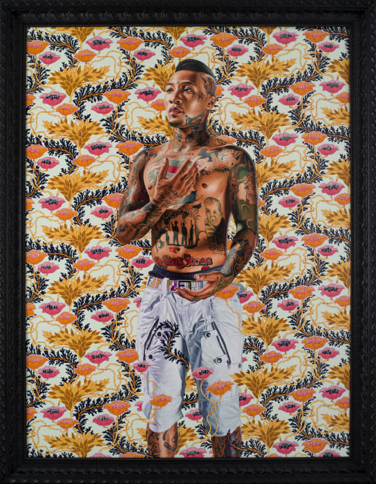Simeon the God Receiver by Kehinde Wiley