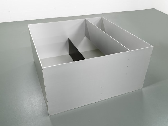 Untitled 1989 by Donald Judd