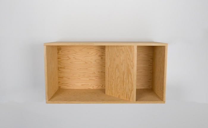 Untitled (89-48) by Donald Judd