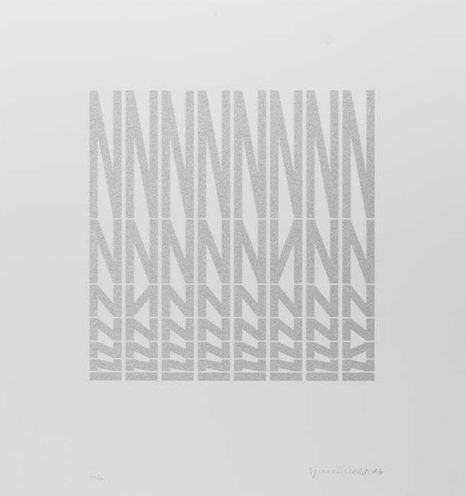 N en désodre by Vera Molnar