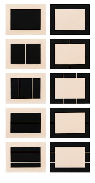 Untitled (S. #177-186) by Donald Judd