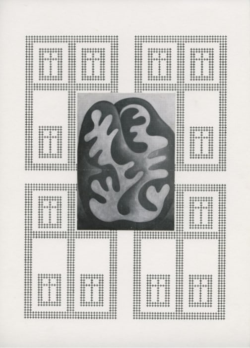 """""""Fensterblick collagiert"""" by Ruth Wolf-Rehfeldt"""