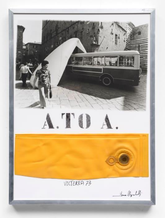 A. to A. (Priori Square, Volterra '73) by Franco Mazzucchelli