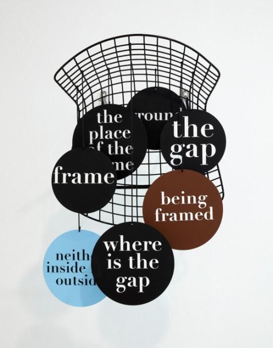 B.HANG.FRAME.GRID.(Bertoia)...ground, frame, the gap... by Thomas Locher