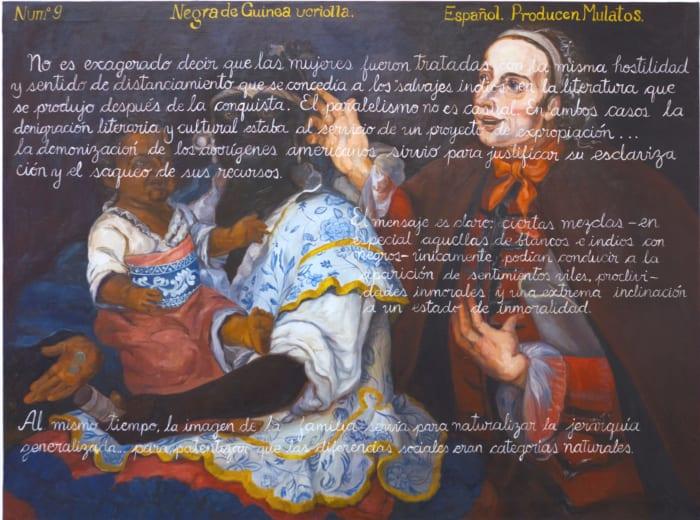 """PRODUCTO (castes)"" by Sandra Gamarra"