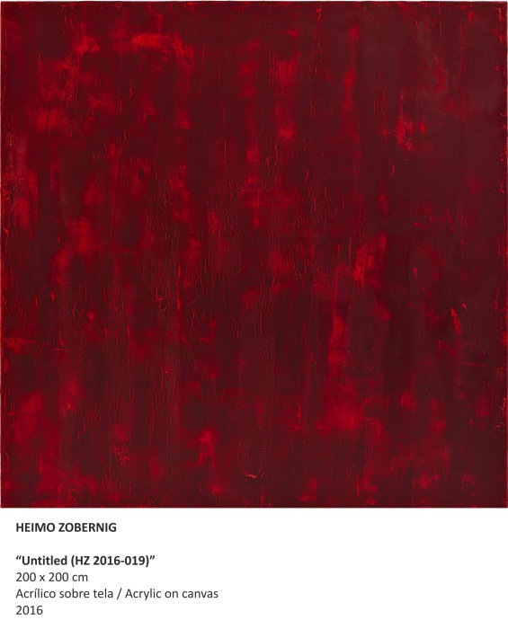 """Untitled ( HZ 2015-019) by Heimo Zobernig"