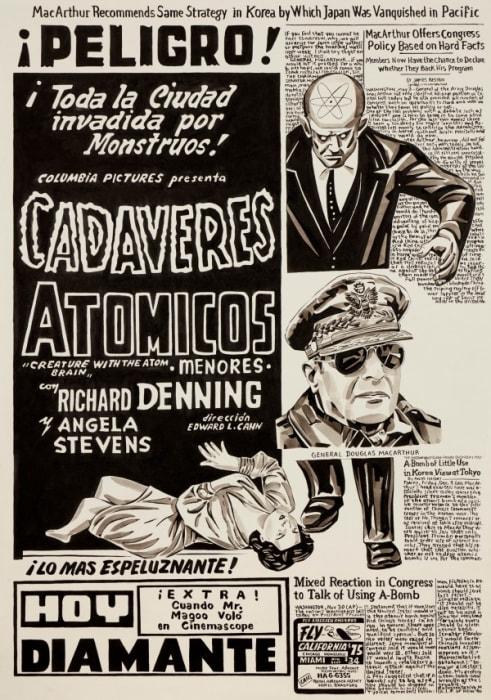Untitled (Cadaveres Atomicos) by Fernando Bryce