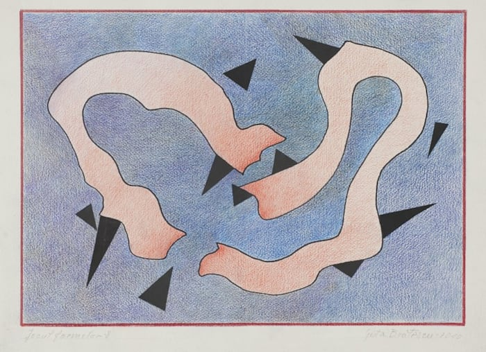 Play of Forms by Geta Bratescu
