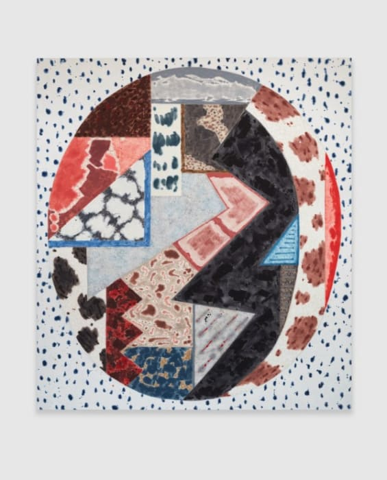Untitled (#07-17) by Rebecca Morris