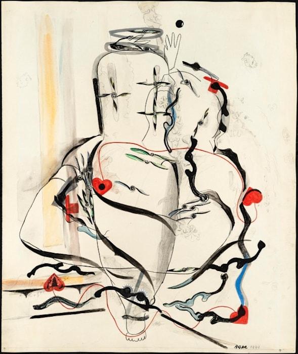 Unendliche Schleife by Eileen Agar