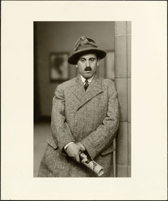 The art dealer (Sam Salz), 1927 by August Sander