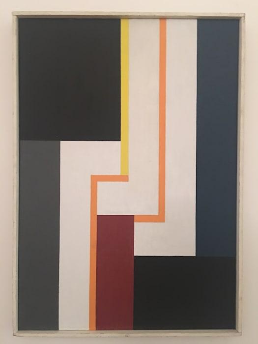 Drei weiße Haken by Walter Dexel