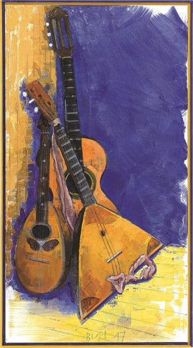 Saitenstück by Samuel Buri